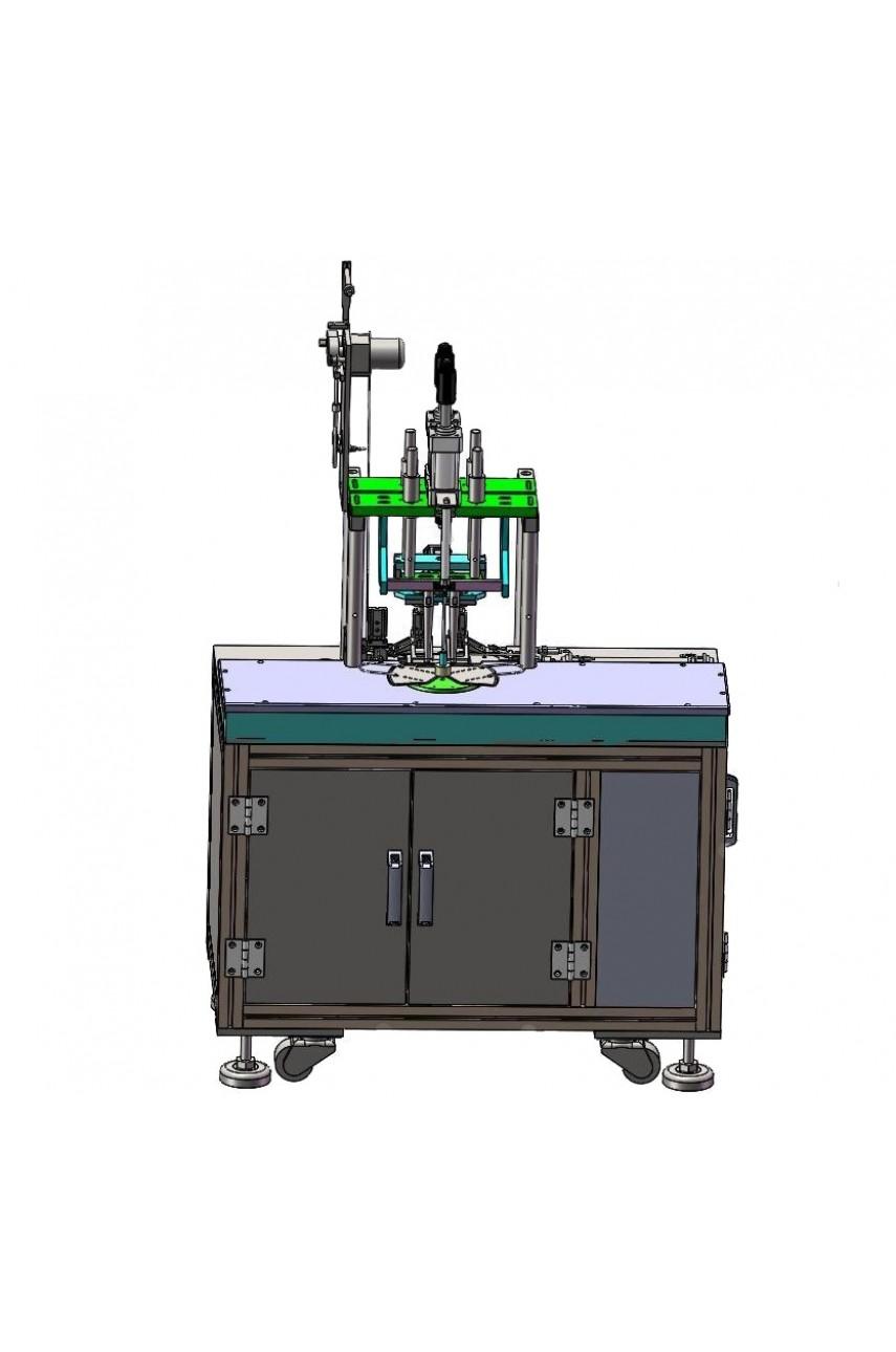 Полуавтоматическая машина для сварки заушин для масок TPET ET-3638