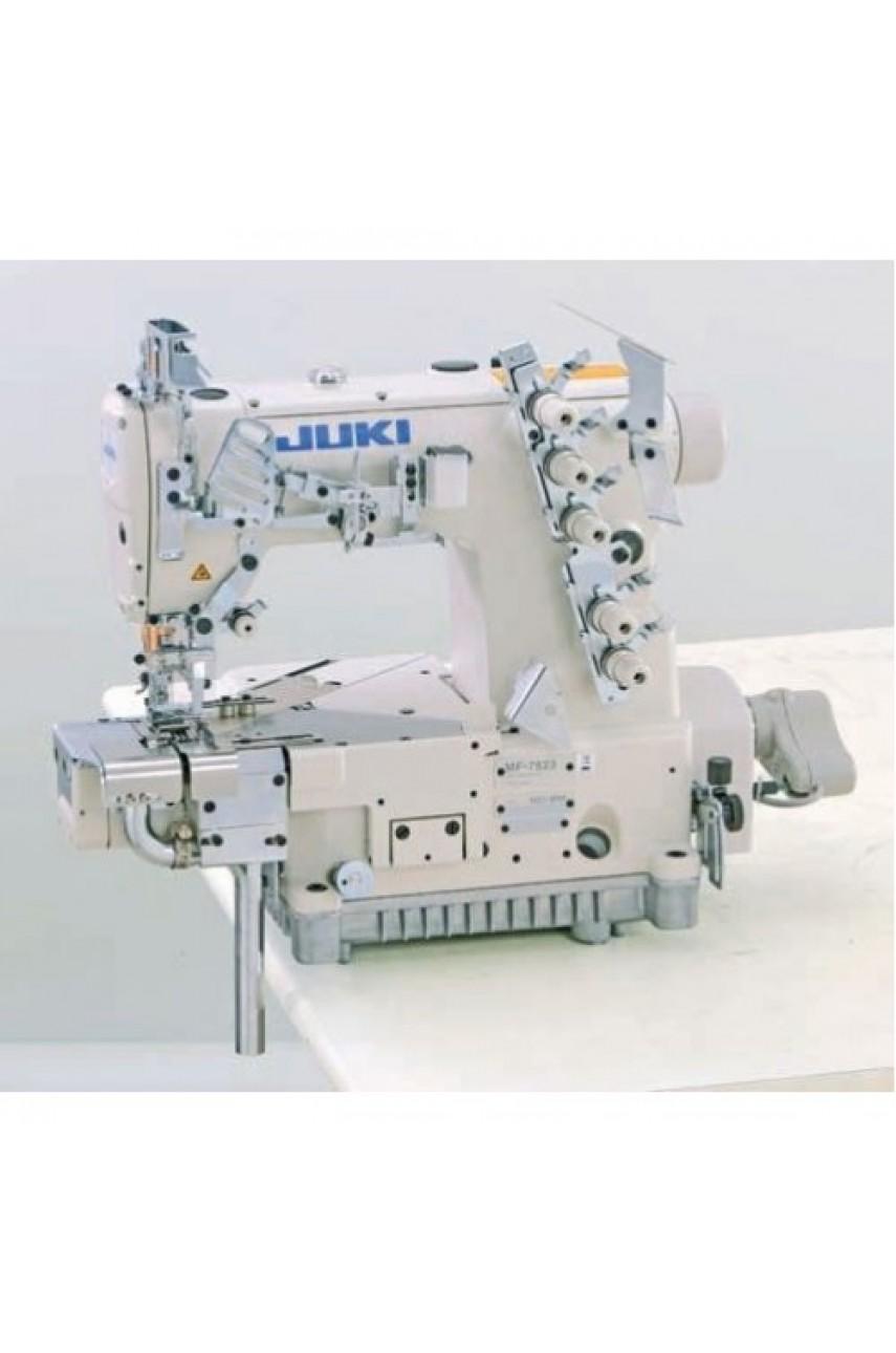 Промышленная швейная машина  Juki MF-7913DR-H24-E64N/UT56/MC37 (для подгибки низа с подрезкой края)