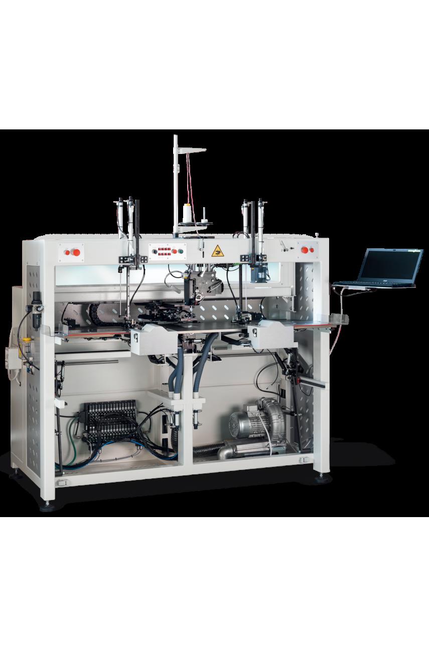 Автомат для притачивания накладной планки шлицы рукава MAICA UAM 04