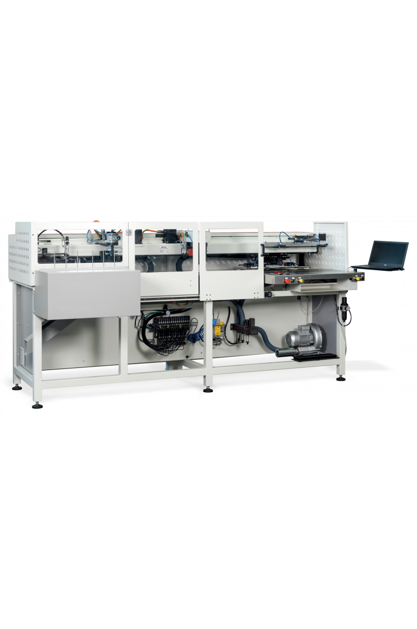 Автомат для стачивания и оснаравливания воротников, манжет, клапанов MAICA UAM 03
