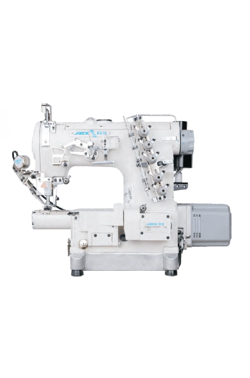 Промышленная швейная машина Jack JK-8670BDI-01CB (6,4 мм)