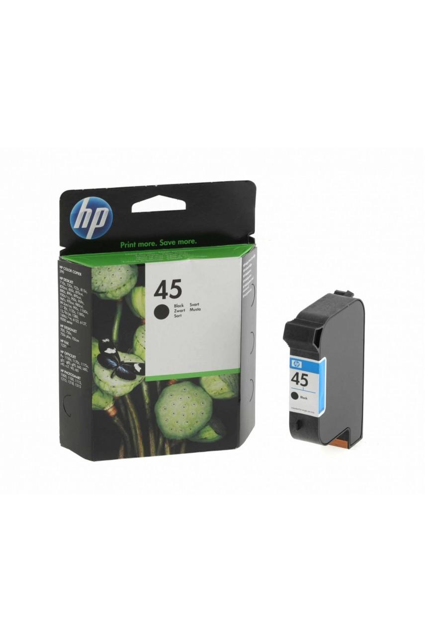Оригинальный картридж HP 45 Black