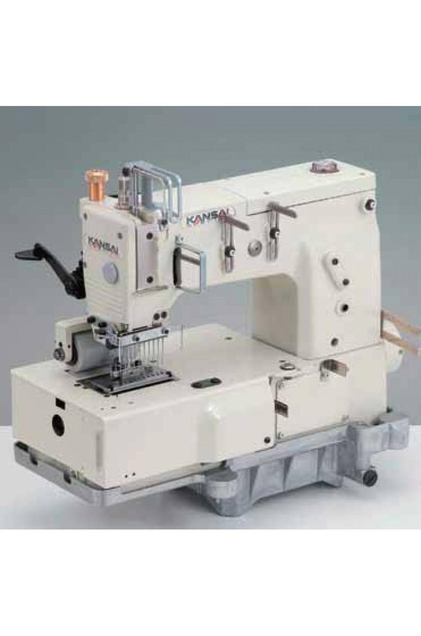 Промышленная швейная машина Kansai Special DFB-1412PS-ET 3/16 (4.8мм)