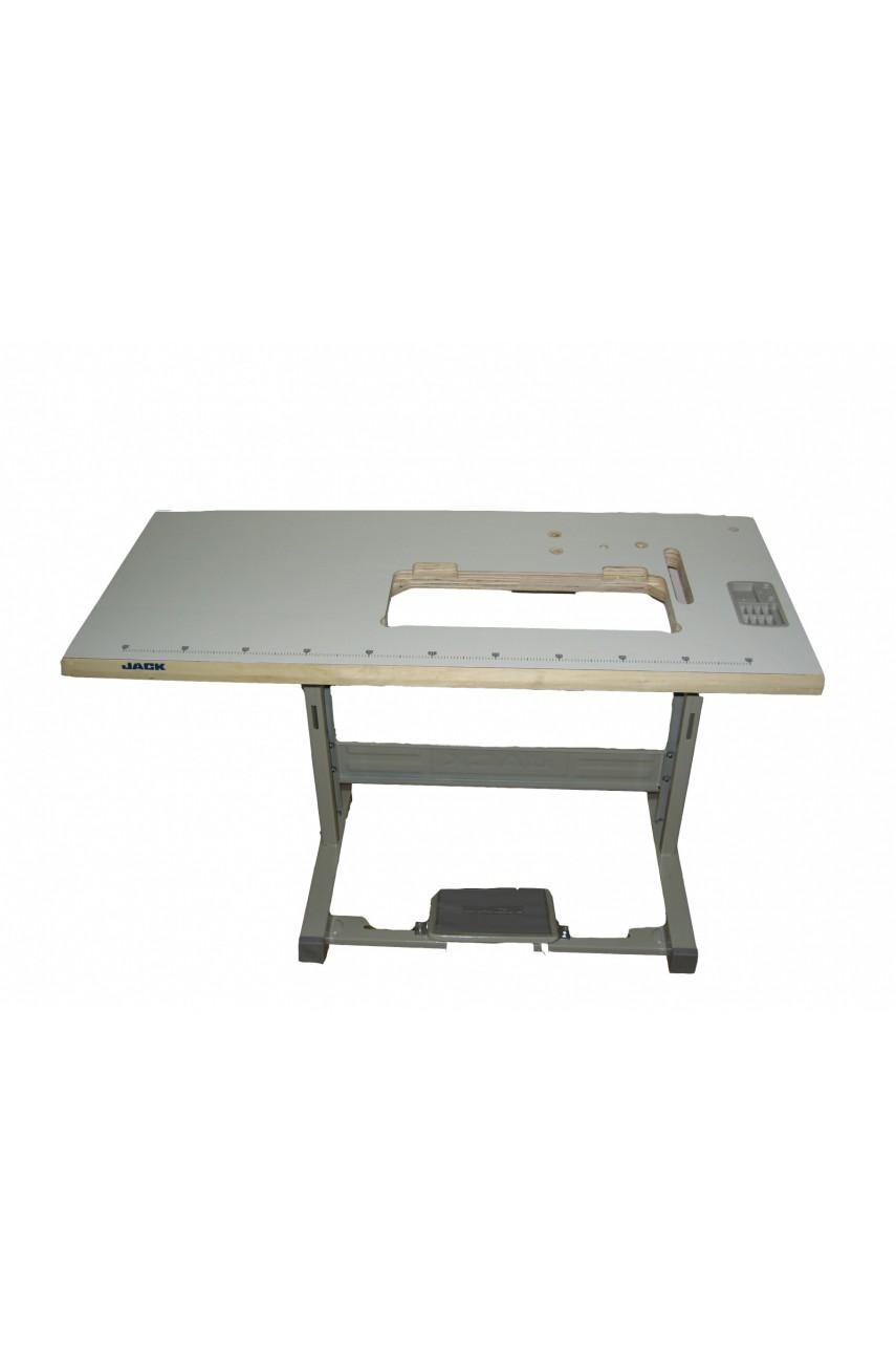 Стол промышленный для Jack JK-8009VCDI с вырезом